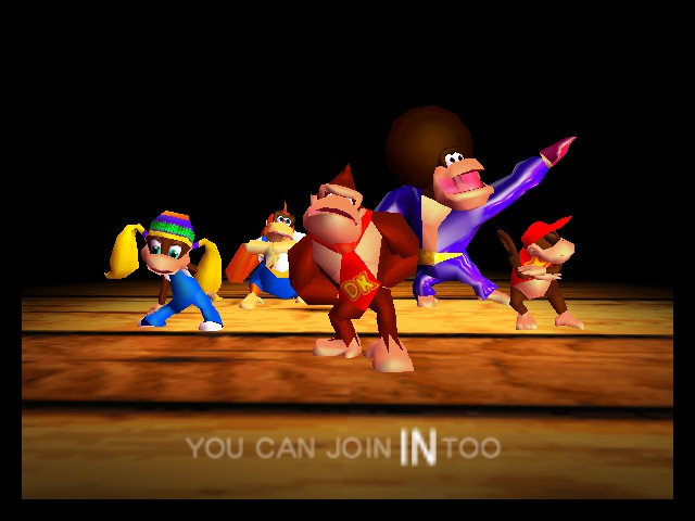 Donkey Kong 64 (J) - Introduction  - Intro Cutscene - User Screenshot