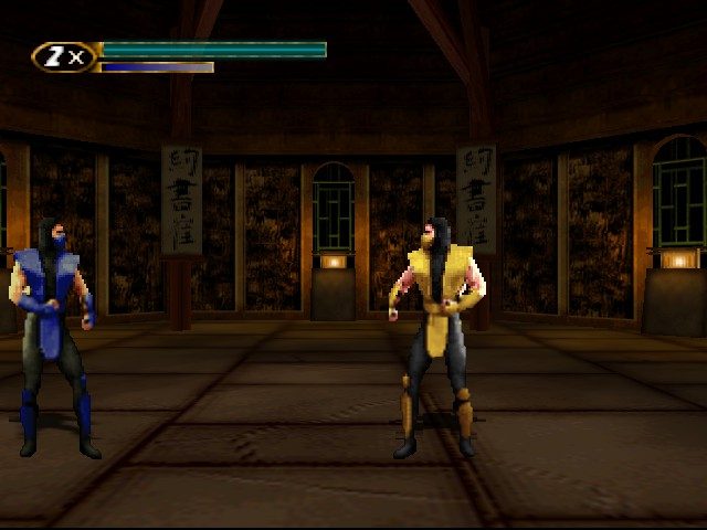 Mortal Kombat Mythologies - Sub-Zero - Level  - First Level - User Screenshot