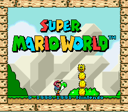 Super Mario World - Introduction  - Title Screen - User Screenshot
