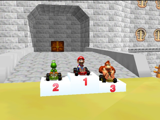 Mario Kart 64 - Screw you Yoshi!! - User Screenshot
