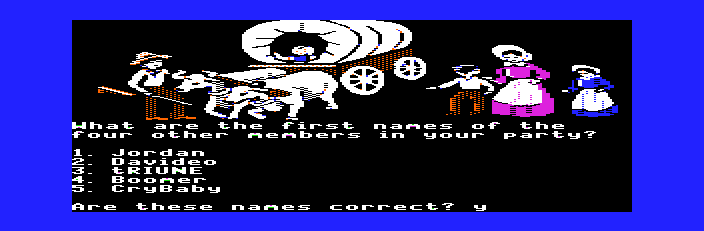 The Oregon Trail - Cut-Scene  - It
