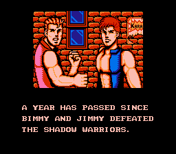 Double Dragon III - The Sacred Stones - Bimmy and Jimmy??!?! ;-) - User Screenshot