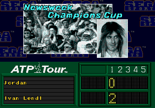 ATP Tour Championship Tennis - Cut-Scene  -  - User Screenshot