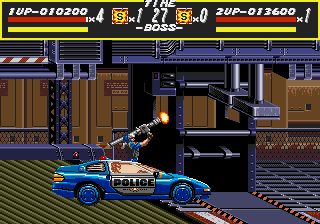 Streets of Rage - Level  -  - User Screenshot