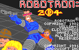 Robotron 2084 - Title - User Screenshot