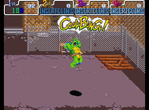 Teenage Mutant Ninja Turtles - Turtles in Time (4 Players ver UAA) - Level  -  - User Screenshot
