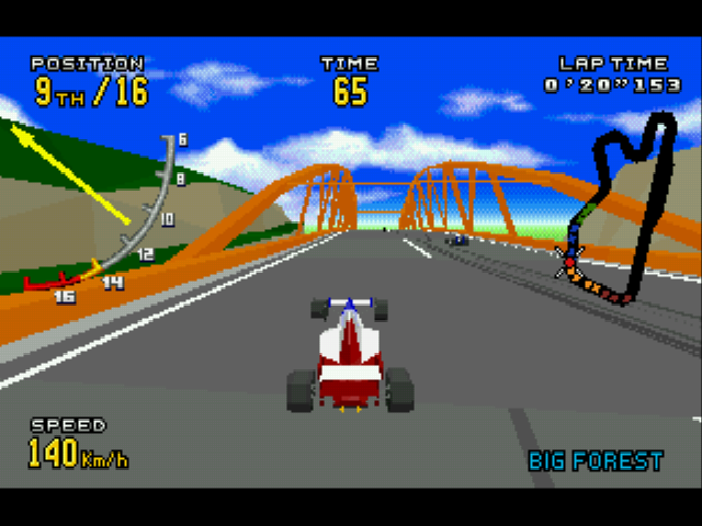 Virtua Racing Deluxe -  - User Screenshot