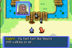 Pokemon Mystery Dungeon - Red Rescue Team - Cut-Scene  - Diglett