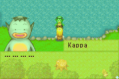 Harvest Moon - More Friends of Mineral Town - Ooo a wild kappa has appeared! Go pokeball! - User Screenshot