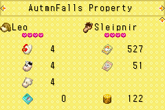 Harvest Moon - More Friends of Mineral Town - Character Profile  - Yay! My farm is awesome! - User Screenshot