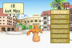 Monster Rancher Advance 2 - naga:octo claw - User Screenshot