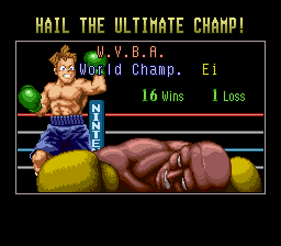 Super Punch-Out!! - im so good - User Screenshot