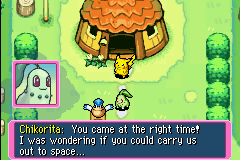Pokemon Mystery Dungeon - Red Rescue Team - Cut-Scene  - Pelipper: Fly you to space, Dafuq you smokin? - User Screenshot