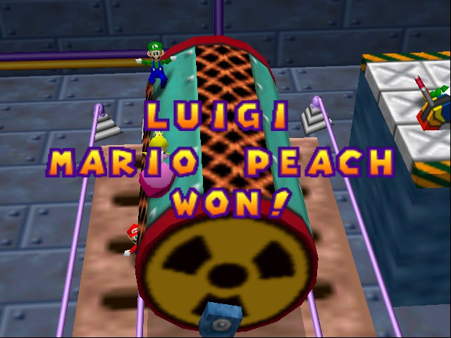 Mario Party 2 - mario falled off - User Screenshot