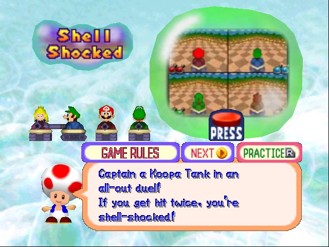 Mario Party 2 - die peach - User Screenshot