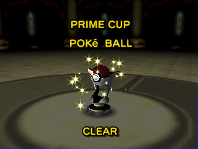 Pokemon Stadium - Prime Cup Clear! - User Screenshot