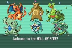 Pokemon Tiberium - True Hall of fame - User Screenshot