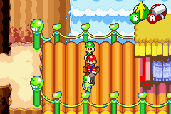 Mario & Luigi - Superstar Saga - Mario hates beans - User Screenshot