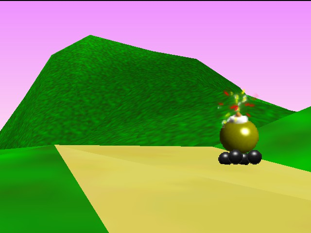 Mario Kart 64 - Ending  - WTF!!!!!!!!!!!!!!!!!! - User Screenshot
