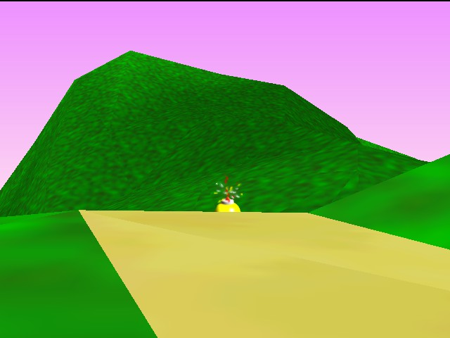 Mario Kart 64 - Ending  - oh, crap! - User Screenshot