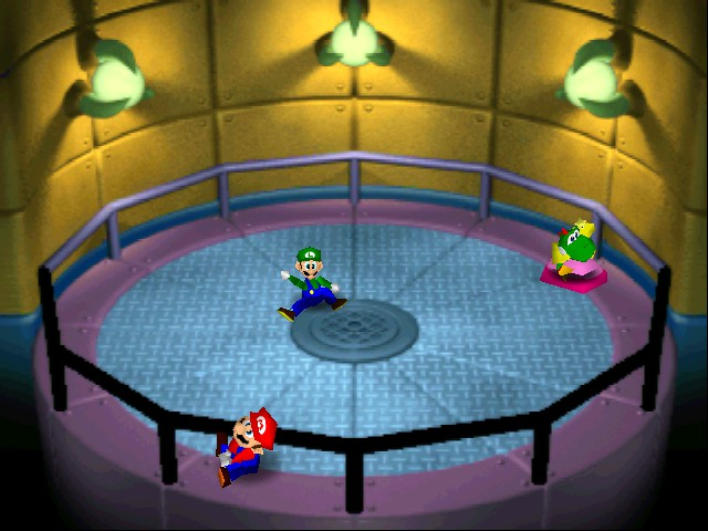 Mario Party 2 - Level Lights out - Yoshi