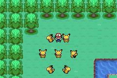 Pokemon Ash Gray (beta 3.61) - Location  - Yeah, Pikachus! - User Screenshot