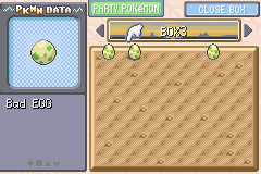 Pokemon Ash Gray (beta 3.61) - Menus PC - Not bad eggs! - User Screenshot