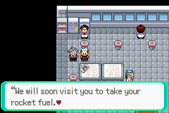 Pokemon Emerald 386 - Misc  - Well since you\