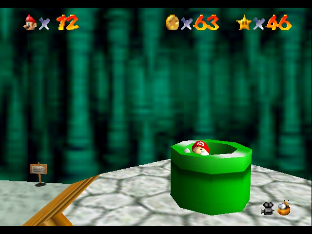 Super Mario 64 - Level Bowser In the Dark World - But I don
