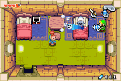 Legend of Zelda, The - The Minish Cap - Who ya gonna call? Ghostbusters! - User Screenshot