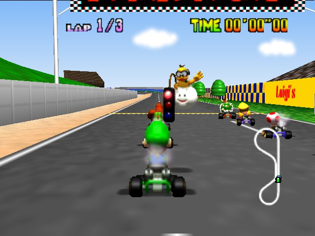 Mario Kart 64 - Get ready Luigi - User Screenshot
