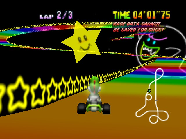 Mario Kart 64 - the star is cool - User Screenshot
