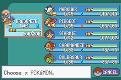 Pokemon Ash Gray (beta 3.61) - after pokemon league final - User Screenshot