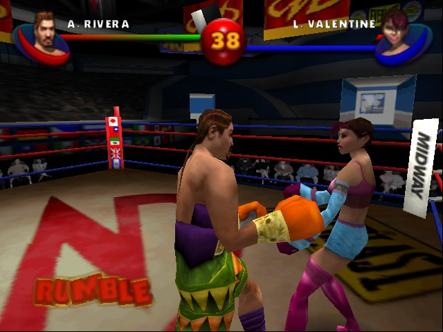 Ready 2 Rumble Boxing - Round 2 - Yeah, what you looking at. - User Screenshot