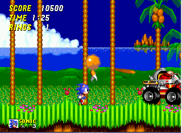Sonic 2 Long Version - level 2 - User Screenshot