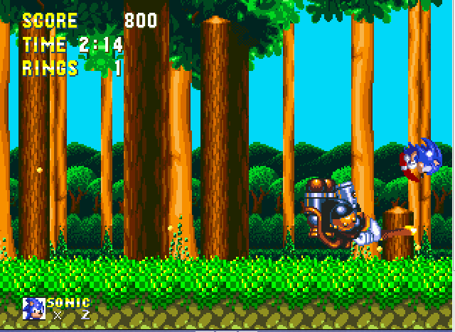 Sonic and Knuckles - beatin da boss - User Screenshot