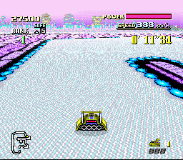 F-ZERO - Okay, who put ice on the hairpin turn? - User Screenshot