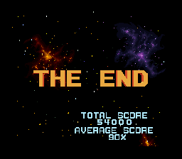 Star Fox - the end - User Screenshot