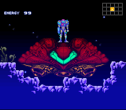 Metroid Super Zero Mission - shocking - User Screenshot