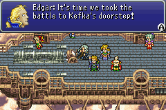 Final Fantasy VI Advance - Going for all Kefka - User Screenshot