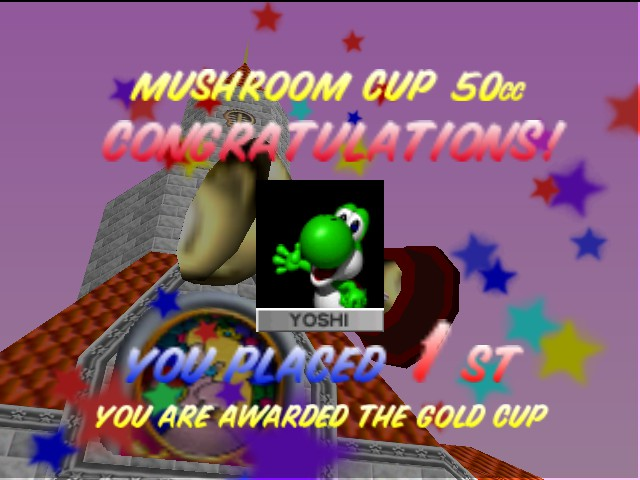 Mario Kart 64 - i win!!!!!!! - User Screenshot