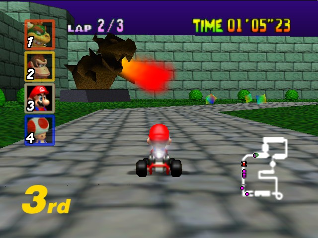 Mario Kart 64 - BOWSER!!! - User Screenshot