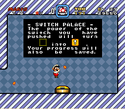 Super Mario World - Mini-Game  - Fire Flower power! - User Screenshot
