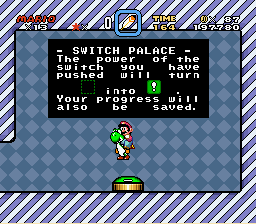 Super Mario World - Mini-Game  - Flight power up! - User Screenshot
