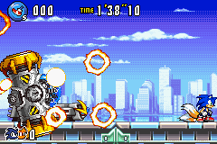 Sonic Advance 3 - EXPLODE!!!!!!!!!!!! - User Screenshot