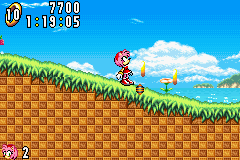 Sonic Advance - Where did THAT come from? - User Screenshot
