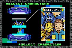 Digimon - Battle Spirit 2 - Character Select  -  - User Screenshot