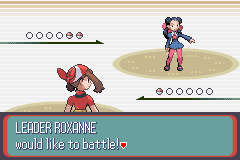 Pokemon Sapphire - Battle  -  - User Screenshot