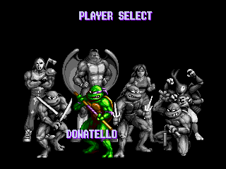 Donatello -Character Select : - User Screenshot