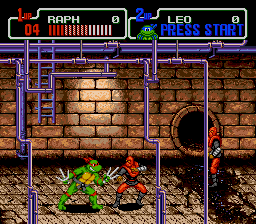 Teenage Mutant Ninja Turtles - The Hyperstone Heist - Level  -  - User Screenshot